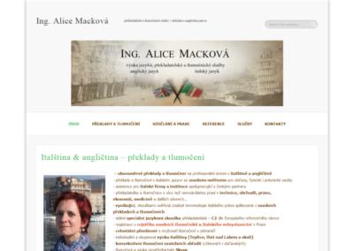 Alice Macková
