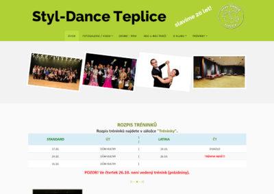 Styl-Dance Teplice