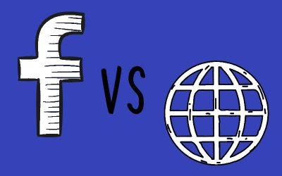 Jen Facebook pro propagaci nestačí